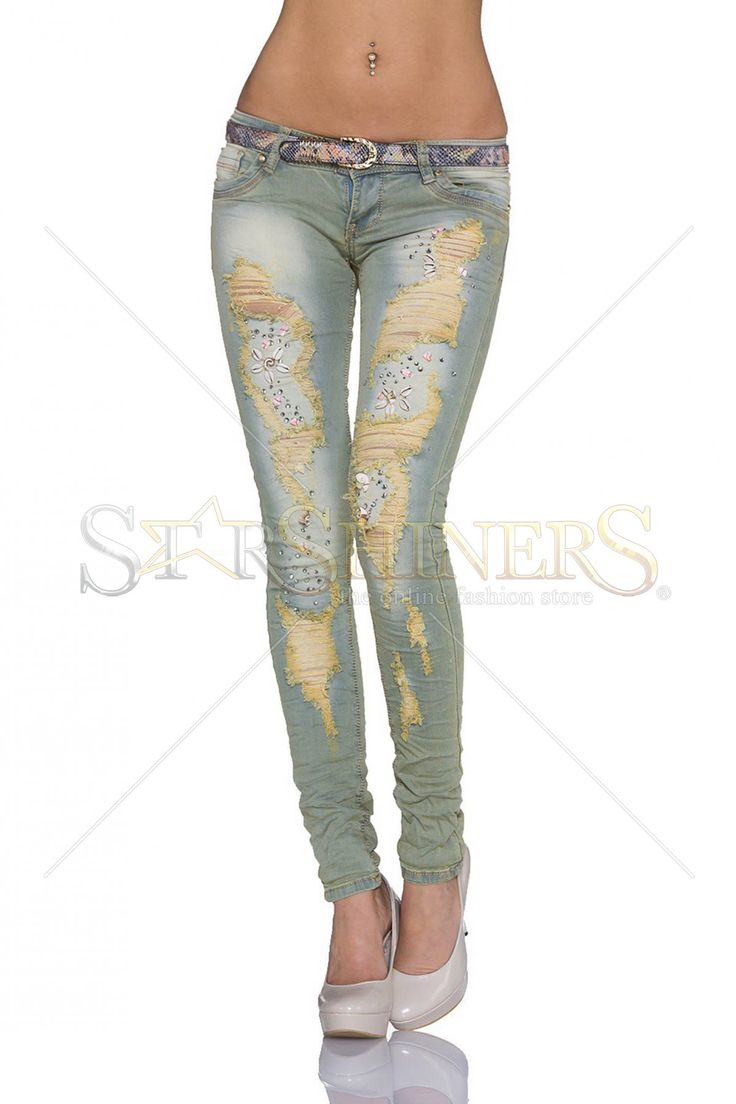Feisty Game Blue Jeans