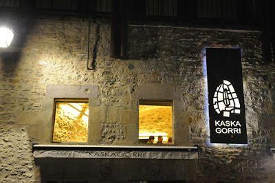 Gastronomía día a día: Restaurante Kaskagorri, Vitoria-Gasteiz
