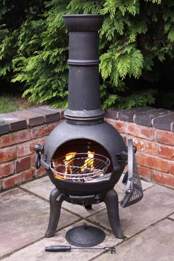 1000+ images about Cast Iron Chimineas on Pinterest | Grey ...