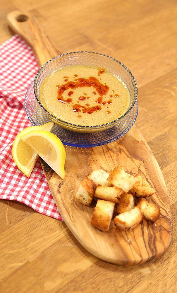 Süzme Mercimek Çorbası Malzemeleri 2 su bardağı kırmızı mercimek 1 adet patates…