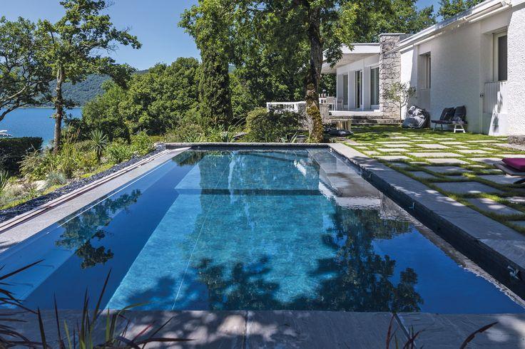 Les 25 meilleures id es concernant piscine cach e sur for Camping le bourget du lac avec piscine