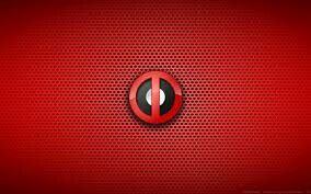 Deadpool emblem wallpaper.