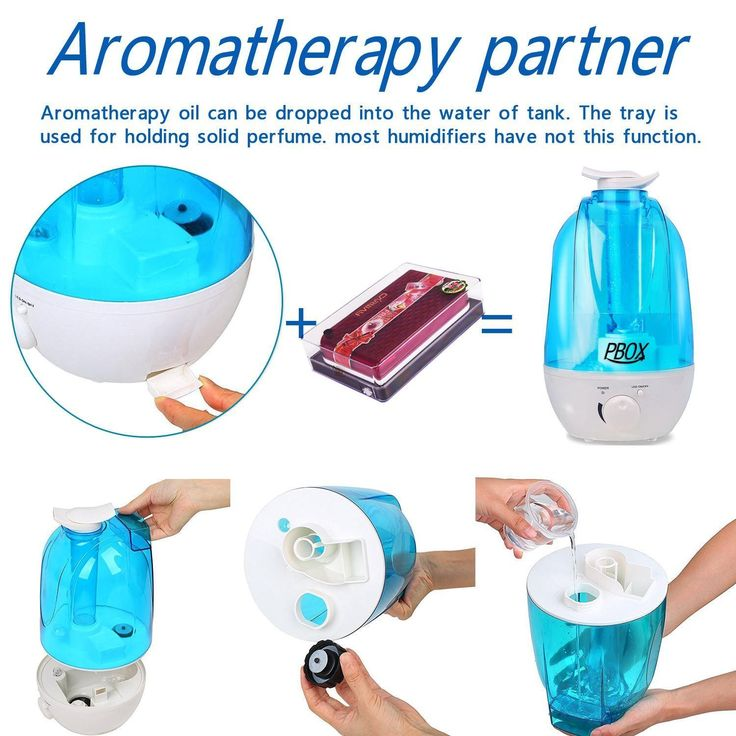 Amazon.com: Ultrasonic Cool Mist Humidifier-Aromatherapy Essential Oil Diffuser -Whisper Quiet with LED Nightlight - 4L High Capacity with Whole House Humidifier-16 Hours Continous Mist,Waterless Auto Shut-off: Home & Kitchen