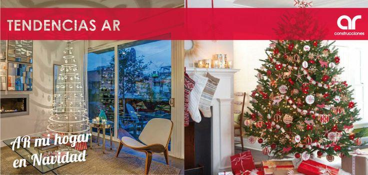 Decoración navideña moderna y decoración navideña tradicional #TendenciasAR