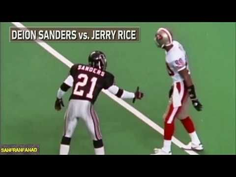 Deion Sanders vs Jerry Rice Summary | NFL Highlights HD - YouTube