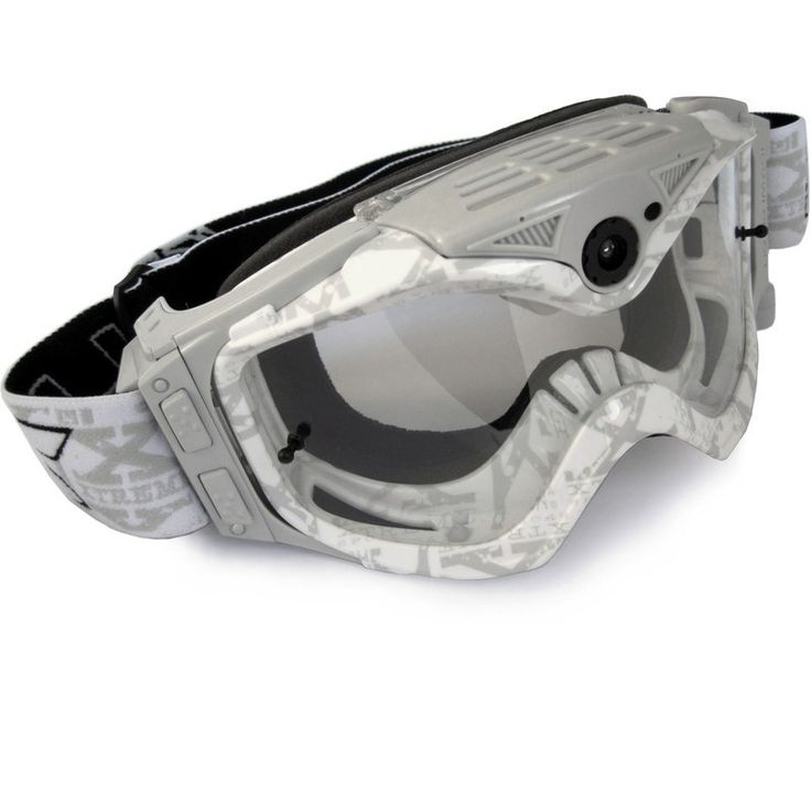 Liquid Image Model 367 1080P Impact Series MX Goggles | White