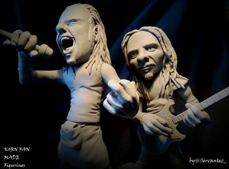 KORN FAN MADE FIGURINES #korn20 #kornfamily #Korn #kornart #justcallmehorse #brianheadwelch #head #munkykorn #jdevil33 #jonathandavis #rayluzier #fieldykorn  #kornfigurines #figurine #sculpture #supersculpey @jonathandavis @rayluzier @fieldykorn @brianheadwelch @munkykorn @justcallmehorse @korn_official