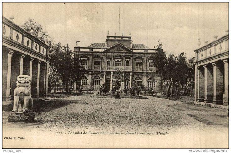 TIEN TSIN - CHINA - CHINE - TIENTSIN - French Consulate. - Consulat de France