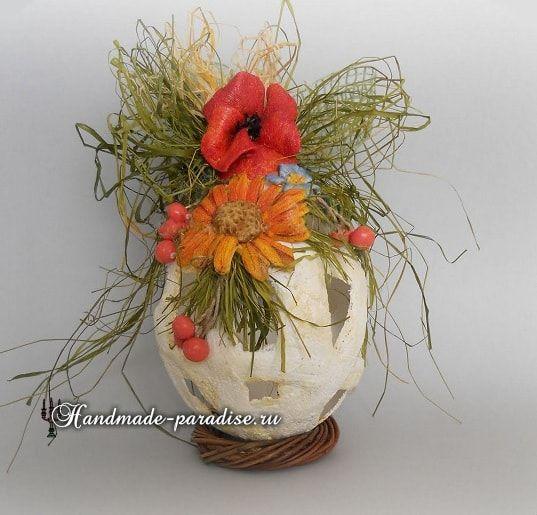 Пасхальные яйца из гипсового бинта.Хочу вам показать как создать декоративное пасхальное яйцо из гипсового бинта, который можно приобрести в аптеке