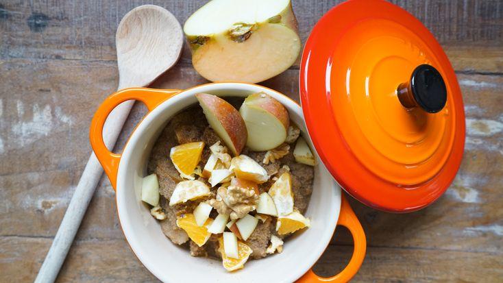 Porridge Rezept - Gesundes Fitness Frühstück - Abnehmen leicht gemacht - Schnell & einfach