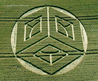 Crop Circle – 19 de Julho – Ockley Hill, Merstham, Surrey, Reino Unido