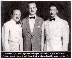 Harry Donenfeld, Jack Liebowitz and Irwin Donenfeld, Harry's son.