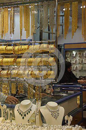 Deira Gold Souk: Gold market in Dubai.