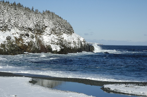 Middle Cove, Newfoundland. Beautiful at any time of year.