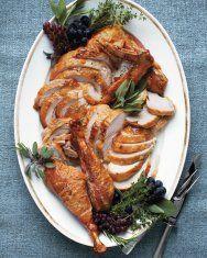 Martha Stewart turkey and gravy