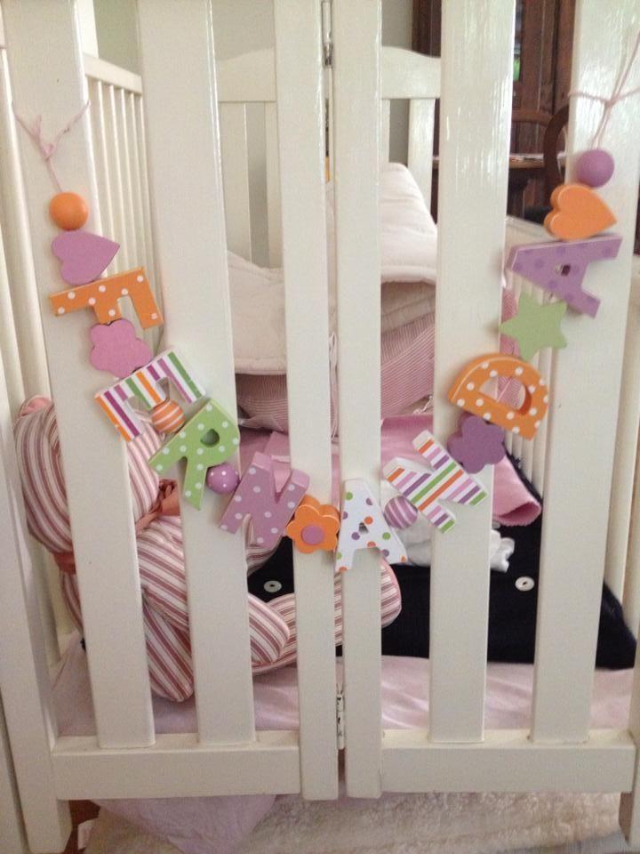 Ber ideen zu holzbuchstaben auf pinterest Buchstaben deko kinderzimmer