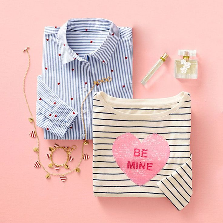 Treat yourself to something special this Valentine's Day and shop our  special collection. From sequin tees to classic embroidery and a new  perfume, ...