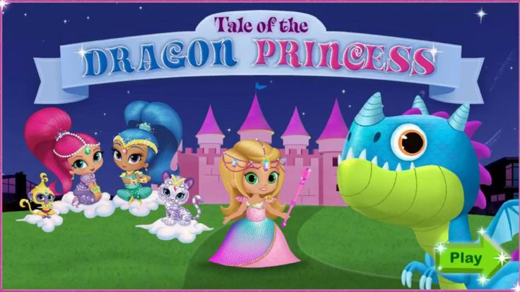 Shimmer and Shine - Tale of the Dragon Princess | Fun Kids Games