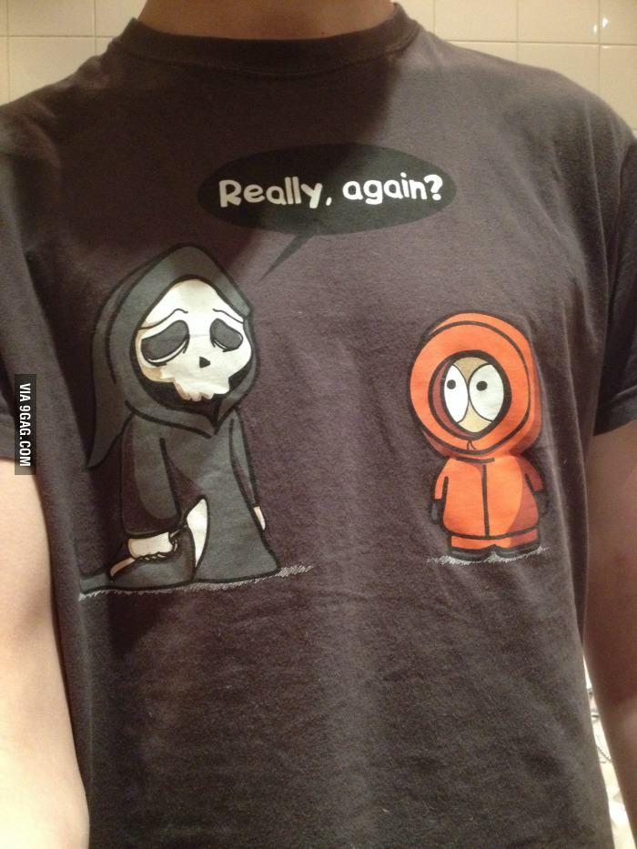 Kenny + death tshirt