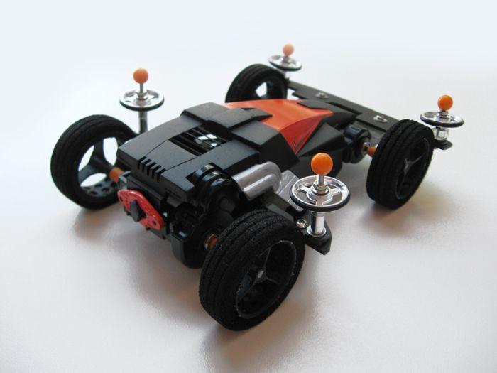 Dash X1 Proto Emperor, Street Version by Aran | Mini 4WD | #Mini4WD | #Tamiya