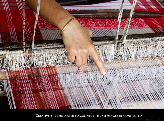 Taat bua.. weaving