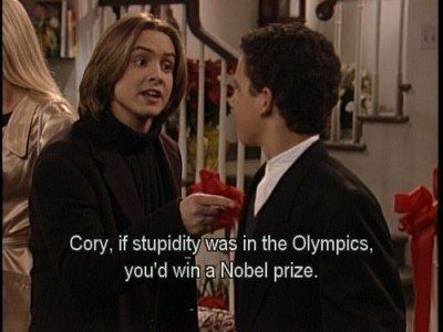 """Eric Matthews' Best 28 Lines On """"Boy Meets World"""" One of the greatest shows ever"""