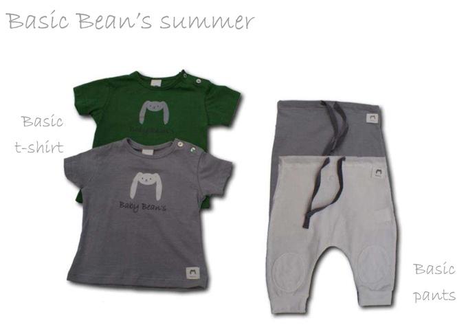 Basic Bean's Summer. 100% soft cotton