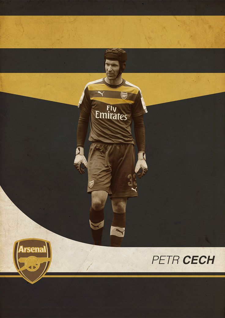 BPL Star Players 2015/16 on Behance - Petr Cech - Arsenal