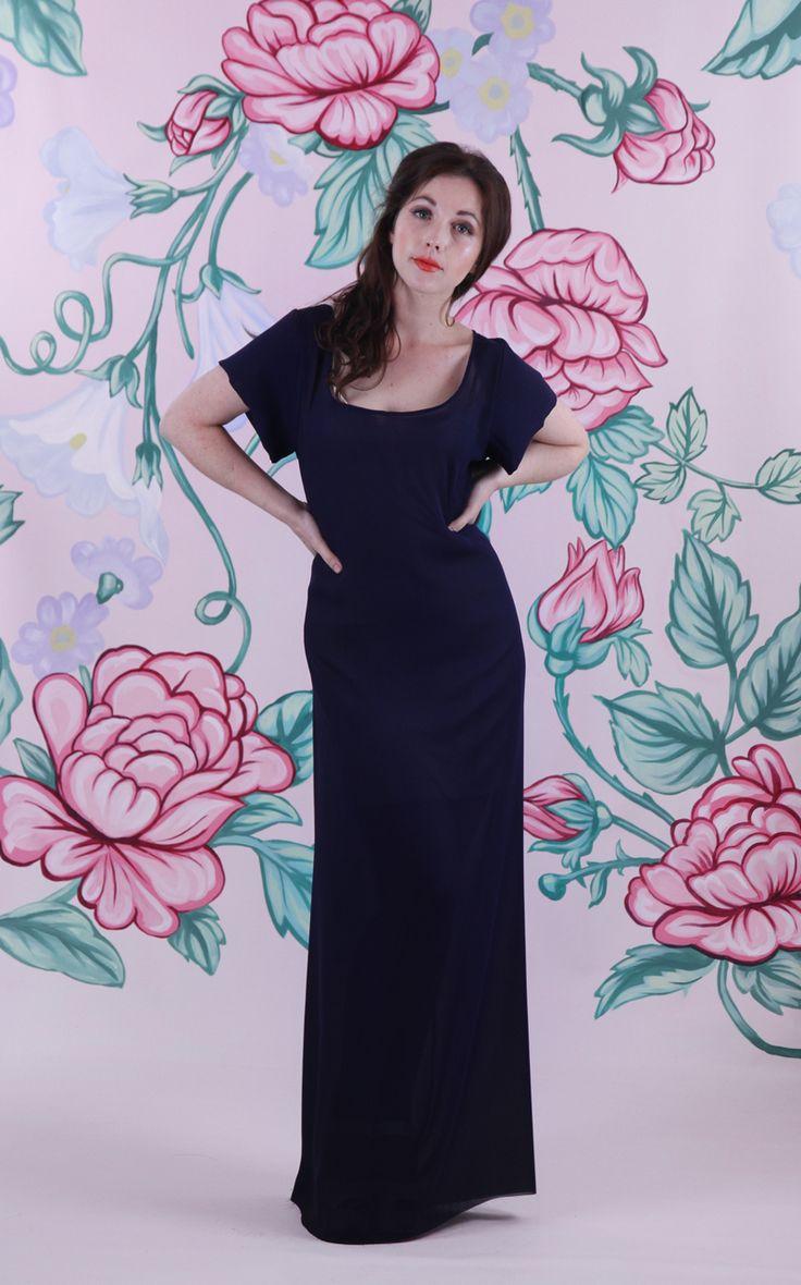 Harriett Falvey - Endearment Dress - Ink