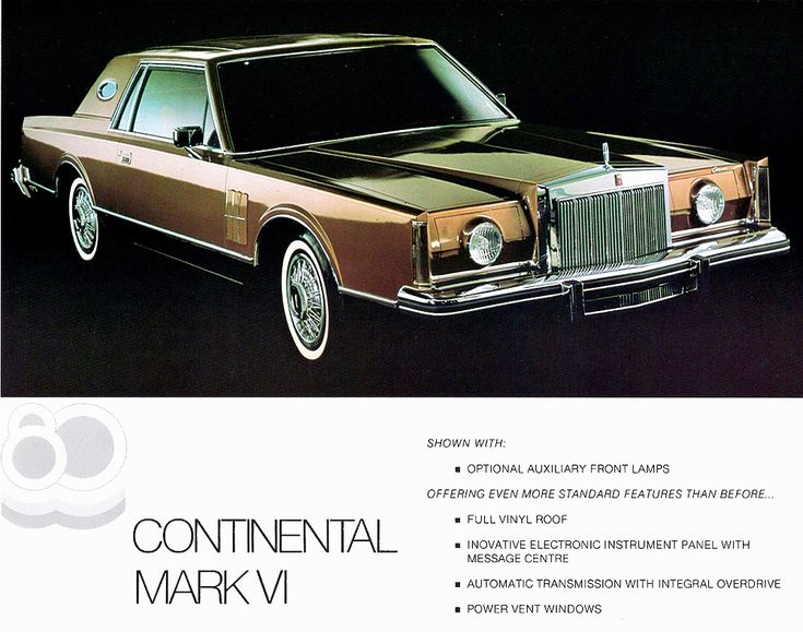 1980 lincoln mark vi coupe promo picture cars pinterest coupe cars and luxury cars. Black Bedroom Furniture Sets. Home Design Ideas
