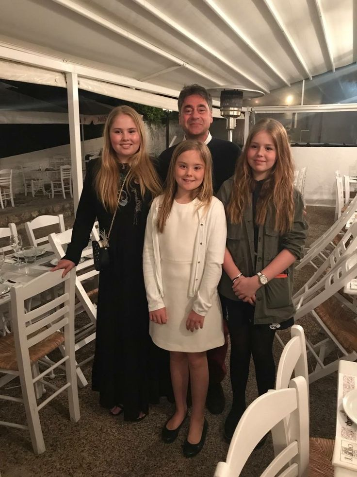 A Day out of Dutch Princesses: Amalia,Alexia,Ariane