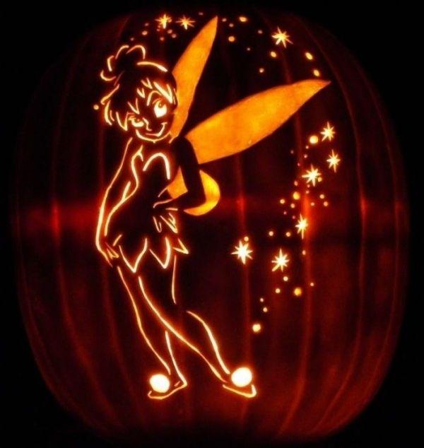 The  Best Tinkerbell Pumpkin Template Ideas On