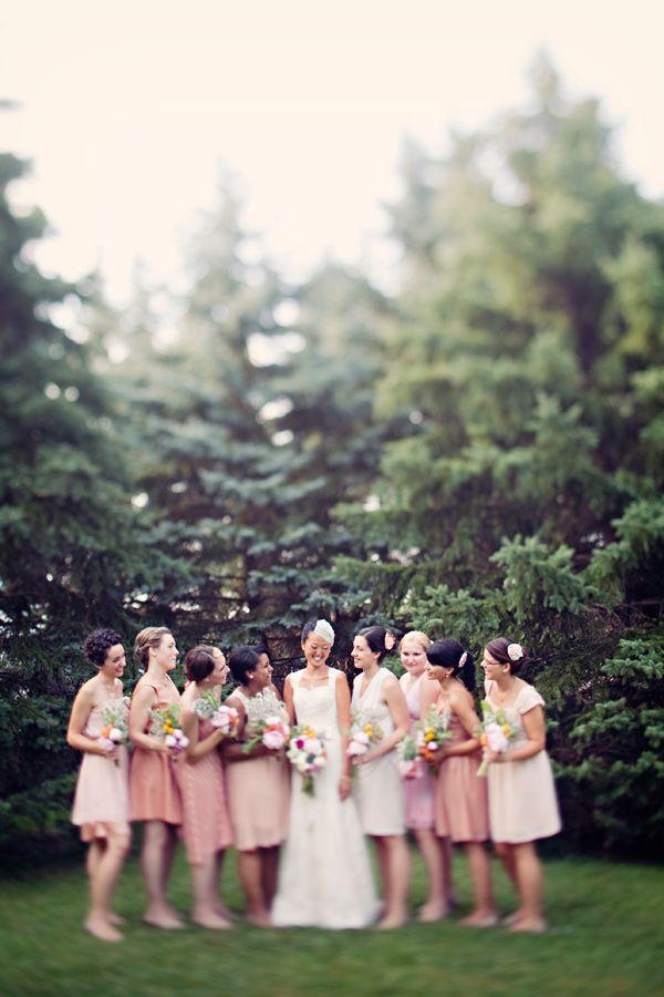 bmaid dress colour scheme