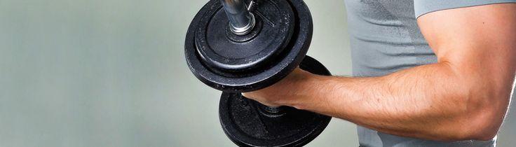 Los suplementos de proteína de suero de leche (whey protein) te ayudarán a ganar masa muscular.