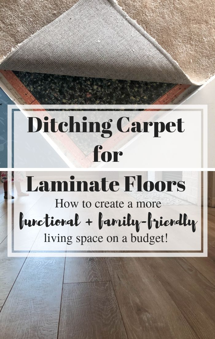 Ditching Carpet For Laminate Floors To Create A Functional Family Friendly Space Oak Laminate Flooring Laminate Flooring Installing Laminate Flooring