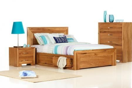 Sorrento King Size Timber Bed bedshed