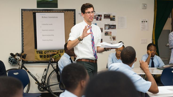 A new father embarks on another big journey: teaching at a startup charter high school in Brooklyn.