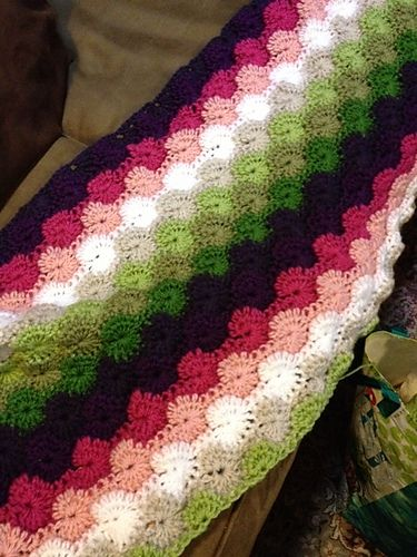 Ravelry: tbest5179's Little Diamonds Afghan
