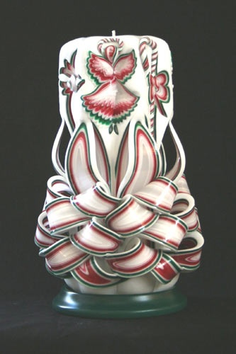 Best images about carved candles on pinterest gardens