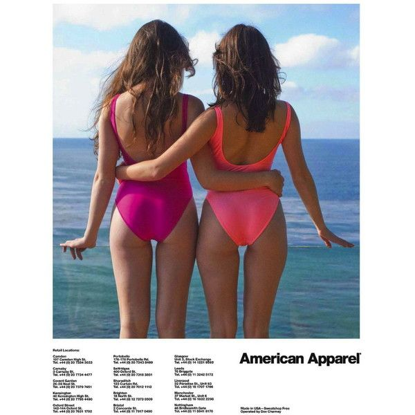 American Apparel Ad Campaign Spring/Summer 2013 - MyFDB ❤ liked on Polyvore featuring pictures, photos, backgrounds, pics, modeling and ad campaign