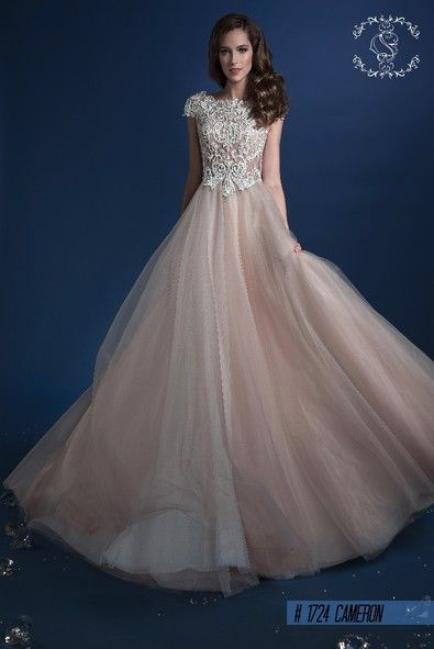 Wedding dress in Cappuccino colour.Why not ?So trendy this season! info@michelangela.co.za