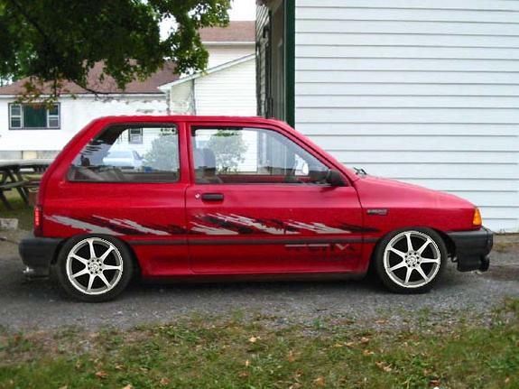 95256's 1993 Ford Festiva Page 5 in Thunder Bay, ON