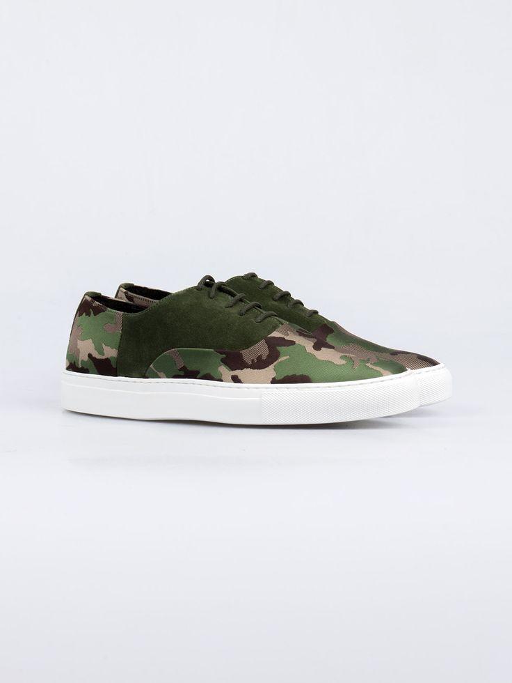 JOSHUA SANDERS , Green Camo Ayakkabı #shopigo#shopigono17#menswear#sneakers