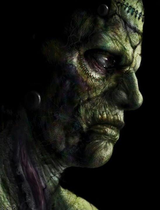 Dark art: Frankenstein