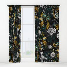 EXOTIC GARDEN - NIGHT Window Curtains