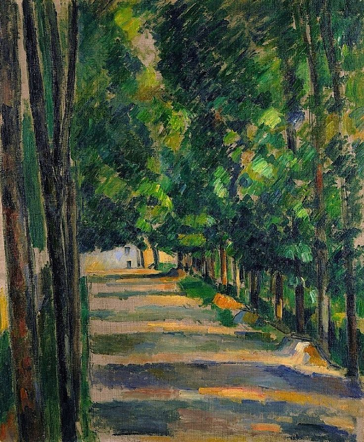 Paul Cezanne, Avenue, ca,1880-82                                                                                                                                                                                 More