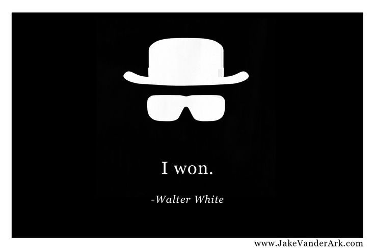 Breaking Bad Hat - Walter White Quote