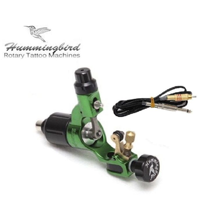 144.40$  Watch now - http://ali6s3.worldwells.pw/go.php?t=32772812079 - Hummingbird pro rotary tattoo machine gun strong motor SR2 with RCA Cord 144.40$