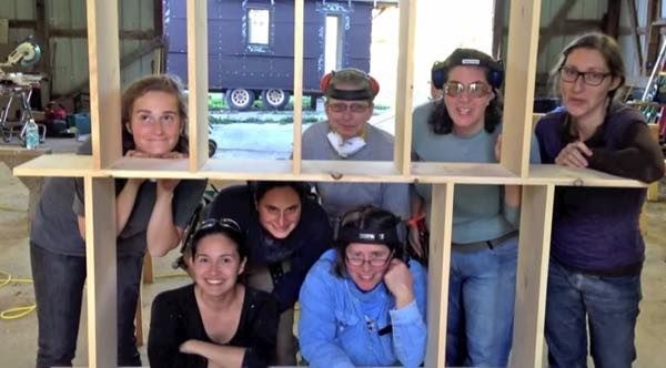 I'm excited to tell you about Hammerstone School because it's a tiny house carpentry schoolfor women in Trumansburg, New York. Best of all, they learn by building tiny houses hands on.…