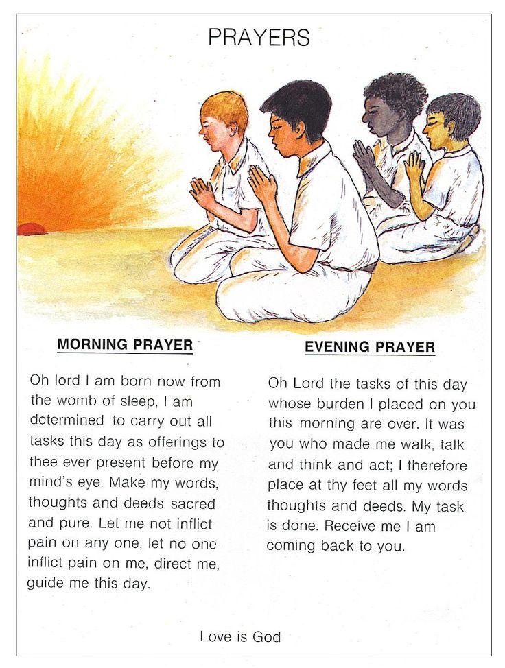 Evening prayer prayer and mornings on pinterest
